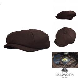 FAILSWORTH フェイルスワース / メルトンキャスケット(ALFIE) Chocolate