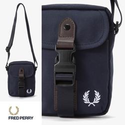 FRED PERRY フレッドペリー / スモールショルダーバッグ(F9587) Navy