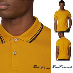 Ben Sherman ベンシャーマン / モッド シグネチャーポロシャツ Dijon