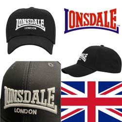 LONSDALE ロンズデール / ロゴキャップ(WIGSTON) Black -送料無料-
