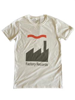 Import T-Shirt 英国直輸入 / Factory Records Tシャツ White