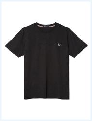 FRED PERRY(フレッドペリー)/クルーネックTシャツ(M6334) Black