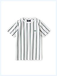 FRED PERRY(フレッドペリー)/レジメンタルストライプTシャツ(F1597) Off White