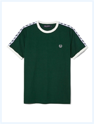 FRED PERRY(フレッドペリー)/テープドリンガーTシャツ(M6347) Ivy