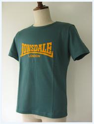 LONSDALE(ロンズデール)/ベーシックTシャツ(L6106) Green