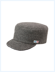 MOUNTAIN EQUIPMENT マウンテンイクイップメント / メルトンウールキャップ(Betws-y-Coed Cap[Solid]) Grey
